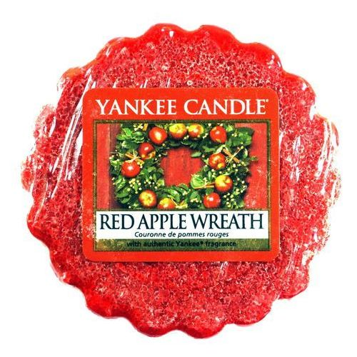 Wosk Zapachowy - Red Apple Wreath - 22g - Yankee Candle (5038580012651)