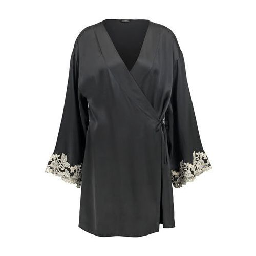 La Perla MAISON Szlafrok nero/avorio, kolor czarny, od rozmiaru XS