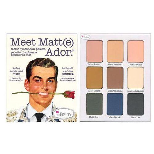 TheBalm Meet Matt(e) Adore   Paleta cieni do powiek 25,5g