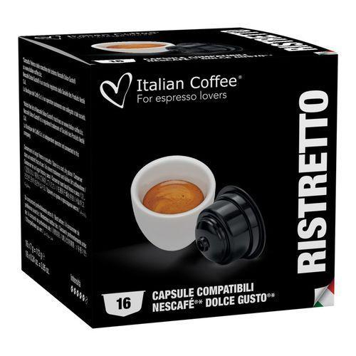 Ristretto italian coffee kapsułki do dolce gusto – 16 kapsułek marki Nespresso kapsułki