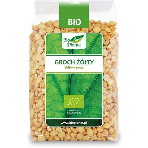 Groch żółty połówki bio 400g - marki Bio planet