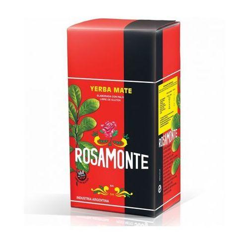 Yerba mate rosamonte, argentyna Yerba mate rosamonte elaborada klasyczna 1000g (7790411001491)