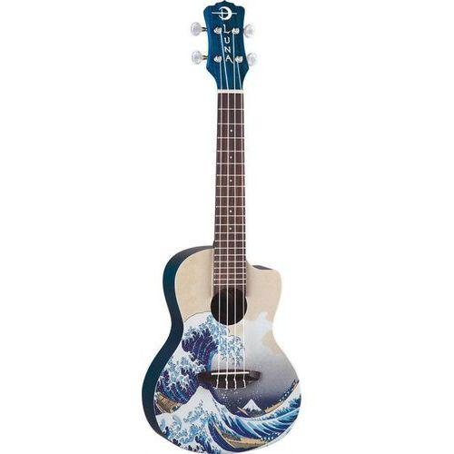 uke pink ukulele koncertowe marki Luna