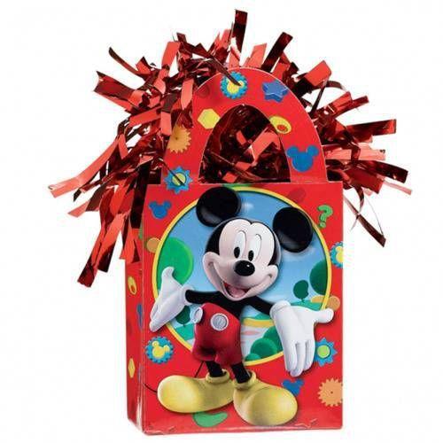 Amscan Obciążnik ciężarek do balonów napełnionych helem - myszka mickey - 156 g. (0013051287795)