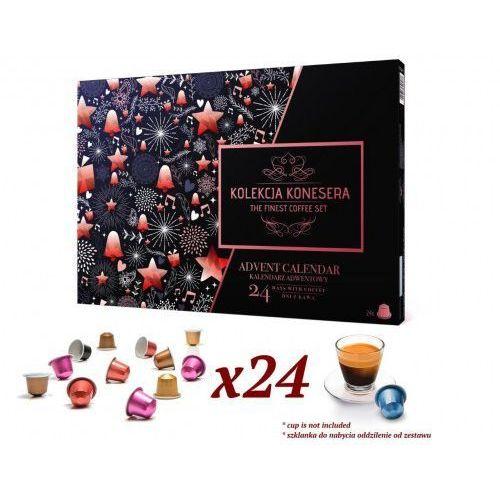 BlackWeek Nespresso - Kalendarz Adwentowy z kawą Nespresso w kapsułkach 2019 firm Nespresso Lavazza Belmio Caffitaly Jacobs Garibaldi Davidoff (5907813306037)