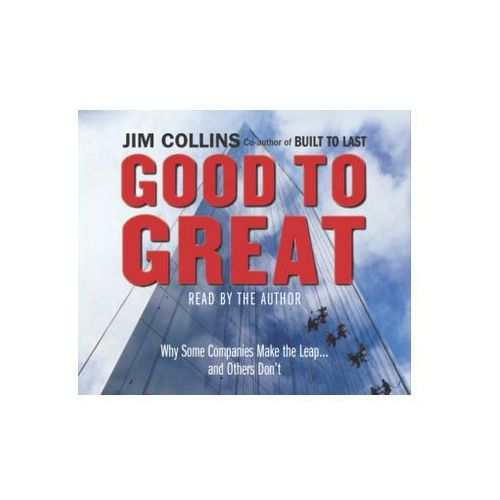 Good to Great Audiobook, Jim Collins