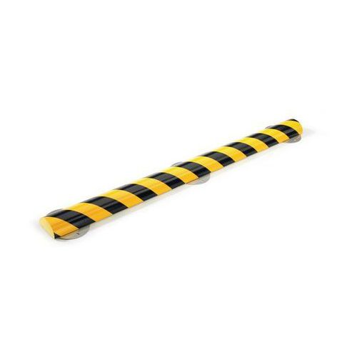 Shg pur-profile Profil ostrzegawczy i ochronny knuffi®,typ c+, dł. 500 mm, przekrój: półokrągły