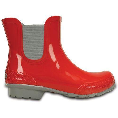 Crocs Boot Women Red Crocs Chelsea Rain