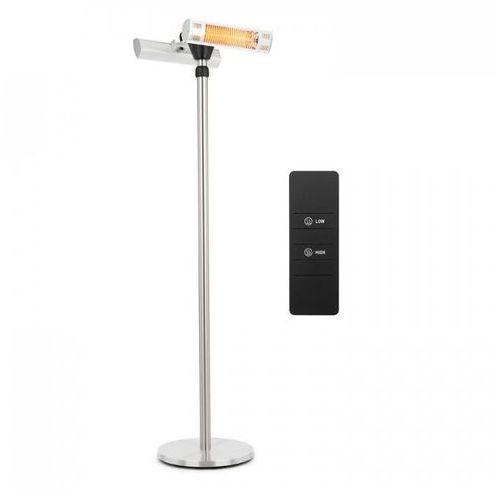Heat Guard Pro grzejnik tarasowy na podczerwień 2x1500W IP44 srebrny