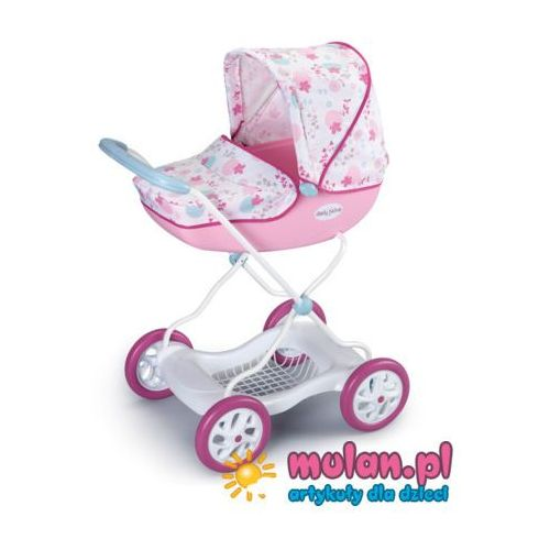 Smoby Baby Nurse Wózek Gleboki SHARA gondola głęboki duży 93 cm 3lata+ 521922 - oferta [3533dc4e43ef03bb]