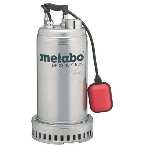 METABO Pompa odwadniająca DP 28-10 S INOX 1850W TRANSPORT GRATIS !