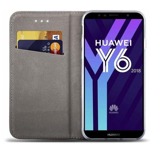 Etui Huawei P Smart Magnet niebieskie