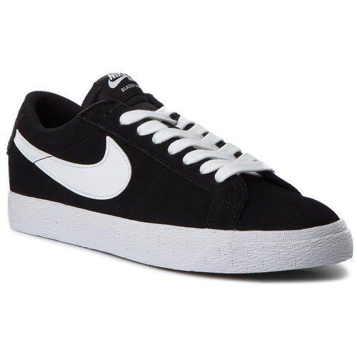 Nike Buty - sb zoom blazer low 864347 019 black/white/gum light brown