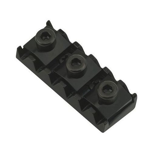 Floyd rose nut r3, std spacing left 42,5-42,8 mm, radius 12, blokada strun, czarna