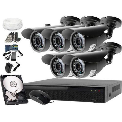 Zestaw do monitoringu: Rejestrator LV-XVR84N, 5x Kamera LV-AL20HT, 1TB, akcesoria, ZM8909