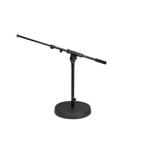 K&m 25960 statyw mikrofonowy niski czarny