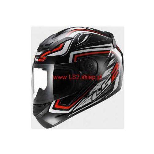 Ls2 Kask motocyklowy kask ff352 rookie ranger black red