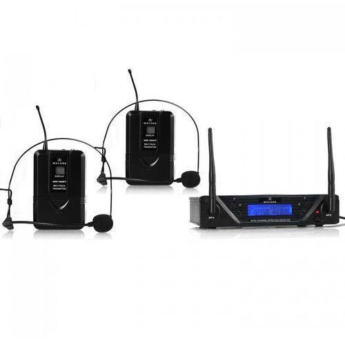 Malone Uhf-450 duo2 2-kanal uhf-funkmikrofon-set