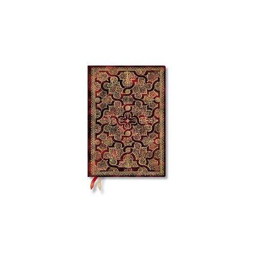 Paperblanks Kalendarz książkowy midi 2018 12m mystique