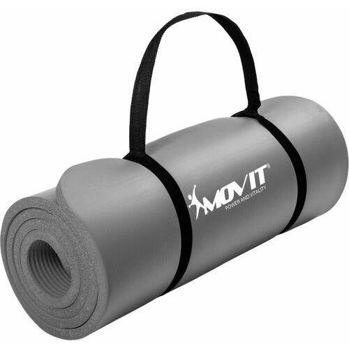 Szara mata piankowa 183x60x1,0cm do ćwiczeń / gimnastyki / fitness / jogi - szary marki Movit ®