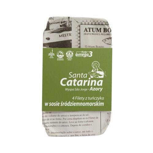 Panegara Santa catarina 120g/4szt filety z tuńczyka w sosie śródziemnomorskim