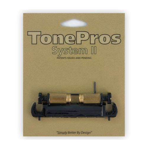 Tonepros vtna-b - wraparound bridge, mostek do gitary, czarny