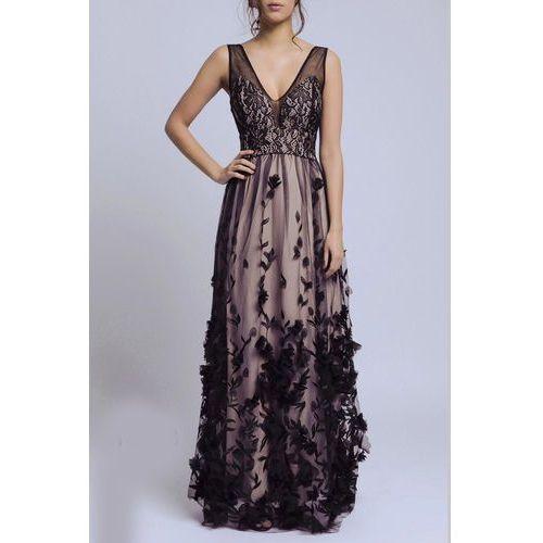 Soky soka sukienka czarny 60003-3, Soky&soka