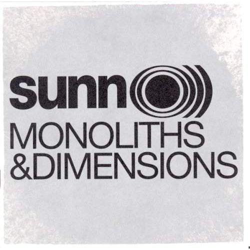 Sunn o ))) - monoliths & dimensions marki Southern lord