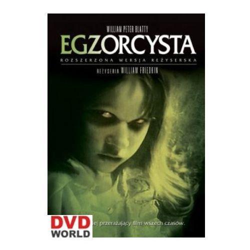 Egzorcysta: rozszerzona wersja reżyserska (2xdvd) - william friedkin darmowa dostawa kiosk ruchu marki Galapagos