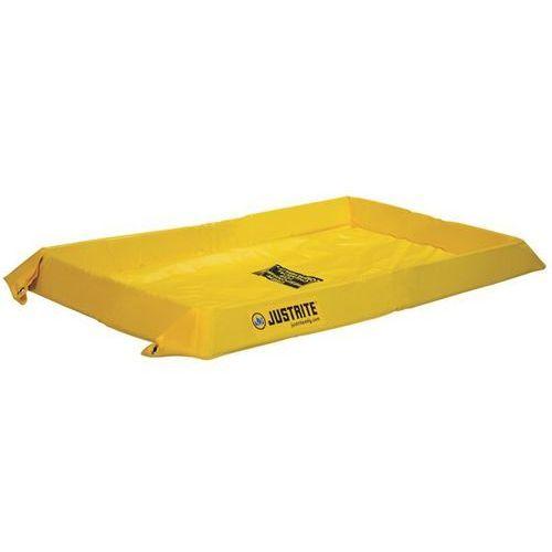 Justrite Uniwersalna wanna wychwytowa, elastyczna, wys. zewn. 102 mm, poj. wychwytowa 303