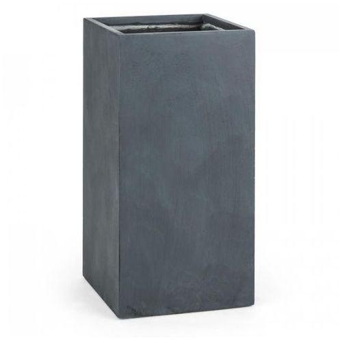 Blumfeldt solidflor doniczka/pojemnik na rośliny 40x80x40 cm fiberton antracyt