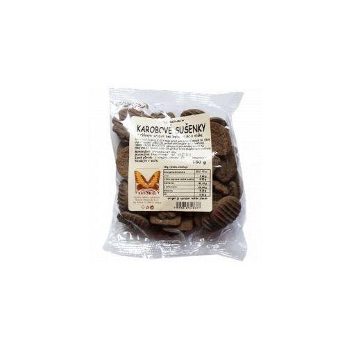 Ciasteczka KAROBOWE bezcukrowe i bezglutenowe 150 g Natural