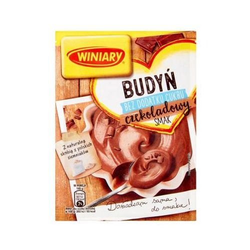 WINIARY 38g Budyń o smaku czekoladowym bez cukru