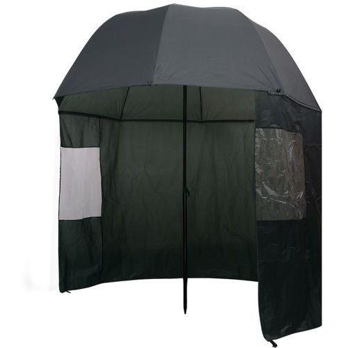 Vidaxl parasol wędkarski / na ryby zielony 300x240 cm