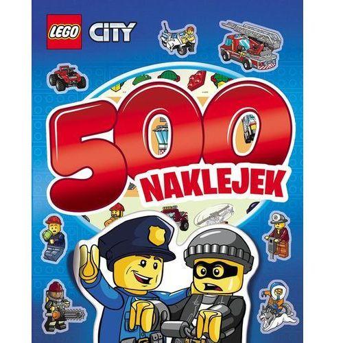 Lego City. 500 naklejek, pozycja z kategorii Film i teatr