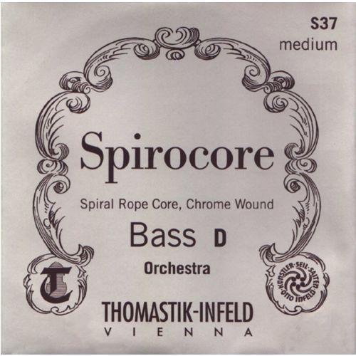 (644219) struny do kontrabasu spirocore spiralny rdzeń - set miękki - s42w marki Thomastik