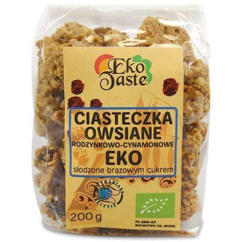 Tast : ciasteczka owsiane cynamonowo-rodzynkowe bio - 200 g