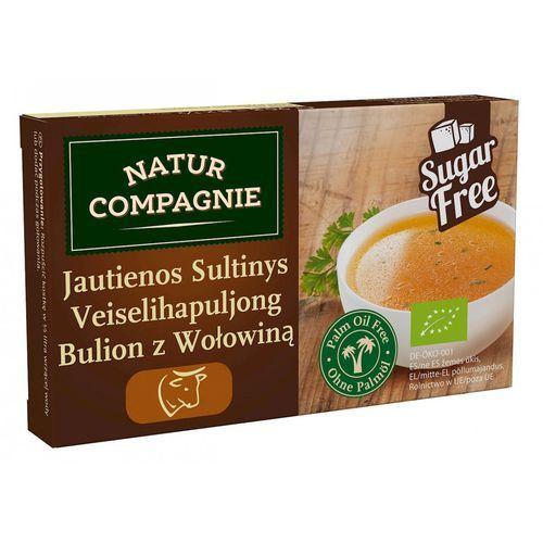 Natur compagnie (buliony, kostki rosołowe) Bulion - kostki wołowe bez dodatku cukrów bio 96 g - natur compagnie