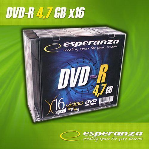 DVD+R Esperanza 4.7GB 16xSpeed (Cake 25szt) - oferta (25ab457937d5523b)