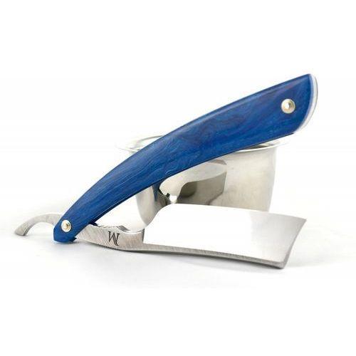 Brzytwa koraat-knives 7/8 juma blue, wklęsłość near wedge, kolczasty grzbiet marki Koraat-knives, austria