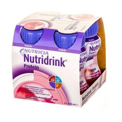 Nutricia polska Nutridrink protein smak truskawkowy 125ml x 4 sztuki