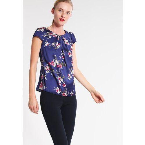 Dorothy Perkins Tshirt z nadrukiem navy blue, rozmiar od 34 do 46, niebieski