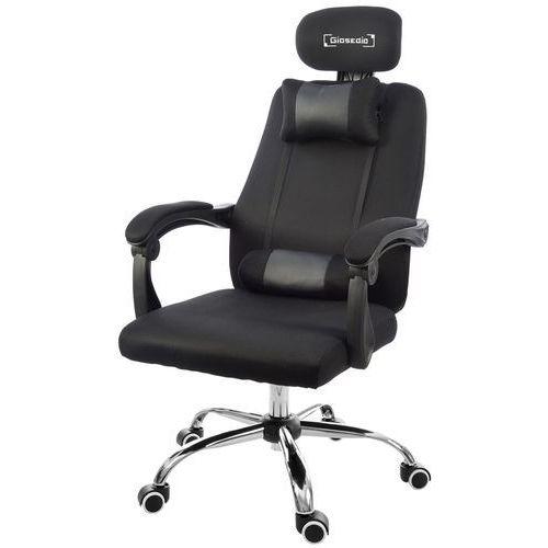 Fotel biurowy GIOSEDIO czarny, model GPX004 (5902751542219)