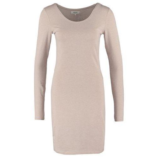 Zalando Essentials Sukienka z d�erseju beige