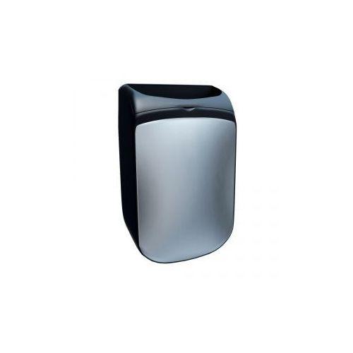 Kosz otwarty wiszący MERIDA MERCURY, poj. 25 l, CZARNY - produkt z kategorii- kosze na śmieci