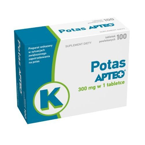 Tabletki POTAS Apteo 300mg x 100 tabletek