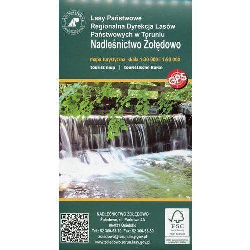 Nadleśnictwo Żołędowo mapa turystyczna 1:30 000 (9788394277697)