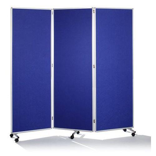 Ścianka do prezentacji, składane i ruchome, wys. x szer. x głęb. 1810x1820x360 m marki Holtz