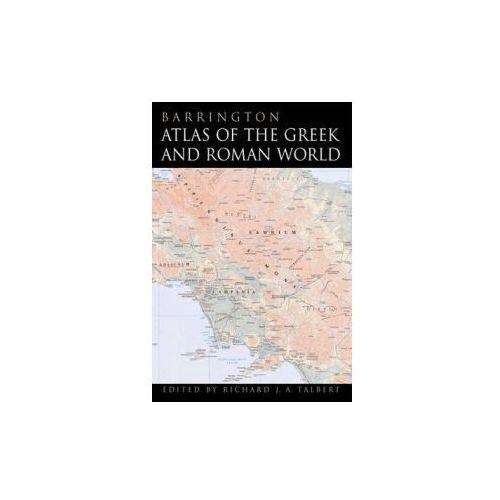 Barrington Atlas of the Greek and Roman World (9780691049458)