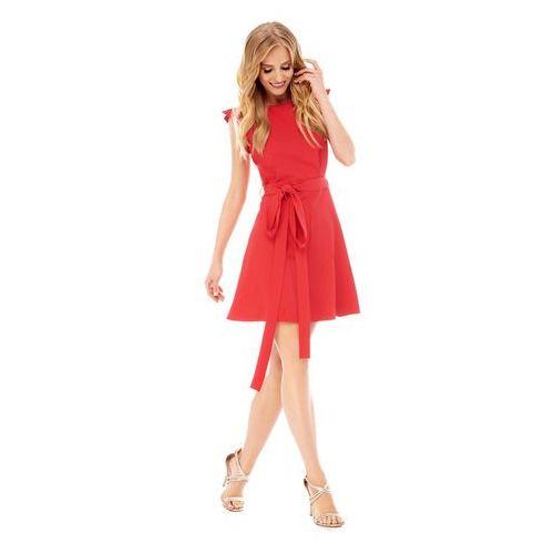 Sugarfree Sukienka visteria w kolorze czerwonym